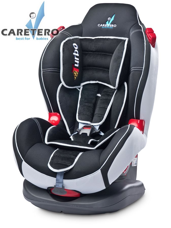 Autosedačka CARETERO SPORT TURBO Black