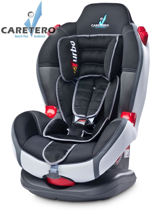 Autosedačka CARETERO SPORT TURBO Graphite