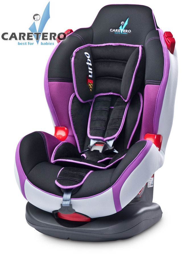 Autosedačka CARETERO SPORT TURBO Purple